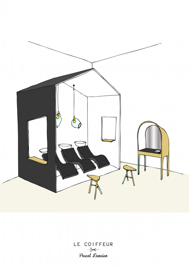 Le Coiffeur by Margaux Keller in association with Bertrand Guillon