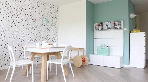 POLKA /_\ SINGLE SPACE by KASIA ORWAT Home Design