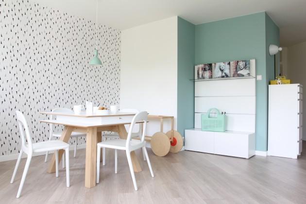 POLKA / \ SINGLE SPACE by KASIA ORWAT Home Design