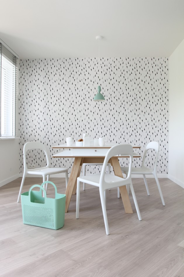 POLKA / \ SINGLE SPACE by KASIA ORWAT Home Design