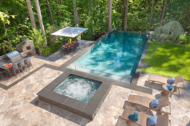 13 Sophisticated Landscape Designs with Amazing Swimming Pools