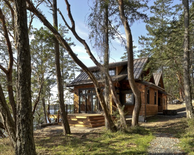 16 Most Elegant Wood Cabin Design Ideas