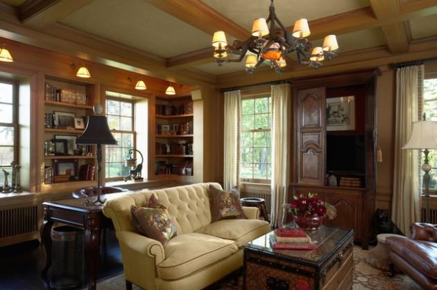 15 Elegant Interior Designs with Tufted Sofa