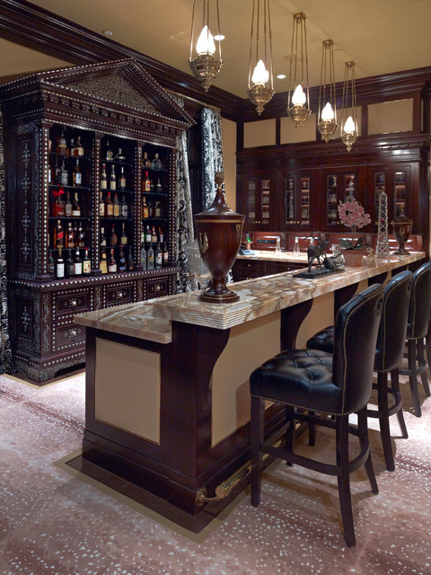Small Living Room Interior Design: 15 Elegant Home Bar Designs For Your House Party