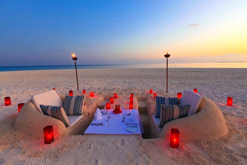 очень романтика ужин любовь море прямом эфире
