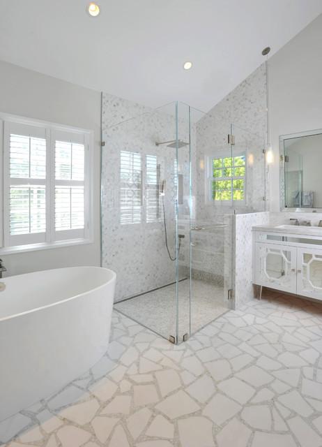 15 Classy Contemporary Glass Shower Designs