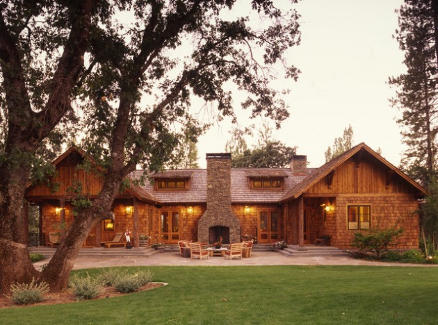 17 Beautiful Rustic Exterior Design Ideas