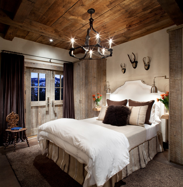 Modern Home Interiors: 16 Irresistibly Warm And Cozy Rustic Bedroom Designs