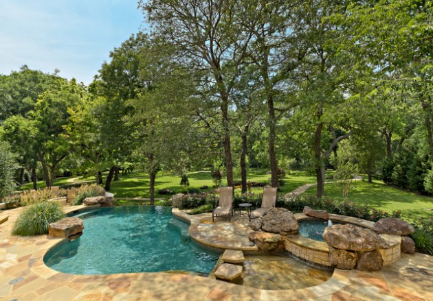 16 sensational backyard pool designs you must see for Natural pool design