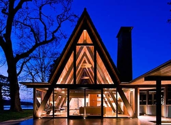 10 Unforgettable Designs of A Frame Houses