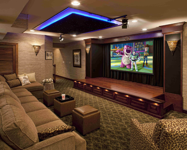 & Creative: Transform Your Old Basement Into Entertaining Room