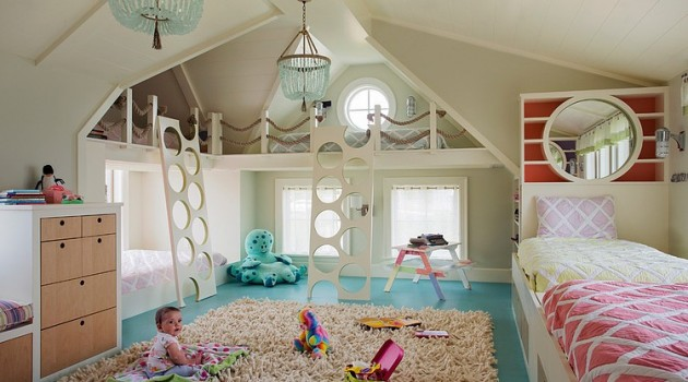 Clever Tips How to Make Wonderful and Functional Dreamy Kids Room