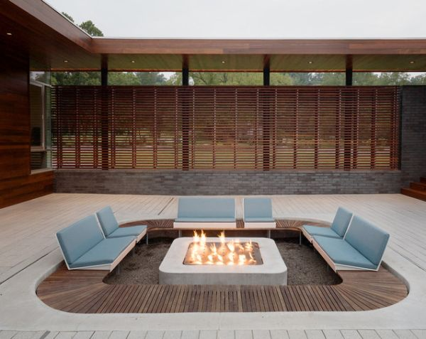 15 Of The Most Fascinating Conversation Pits and Sunken Sitting Areas