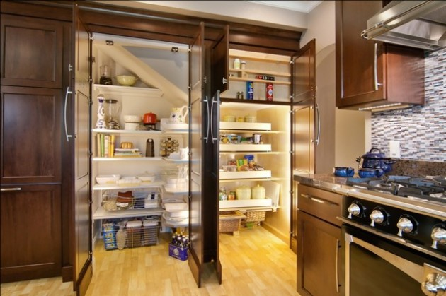 13 Functional Ideas How to Decorate Your Pantry Properly
