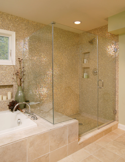 15 Classy Contemporary Glass Shower Designs