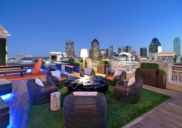 14 Extravagant Dreamy Rooftop Places for Relaxation