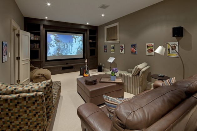 Inspirational & Creative: Transform Your Old Basement Into Entertaining Room