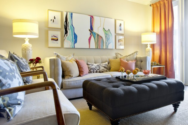 21 Beautifully Decorated Small Living Rooms