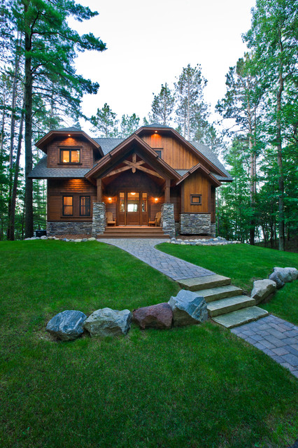 17 Beautiful Rustic Exterior Design Ideas
