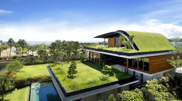 Meera Sky Garden House – An Amazing Eco-Friendly Home