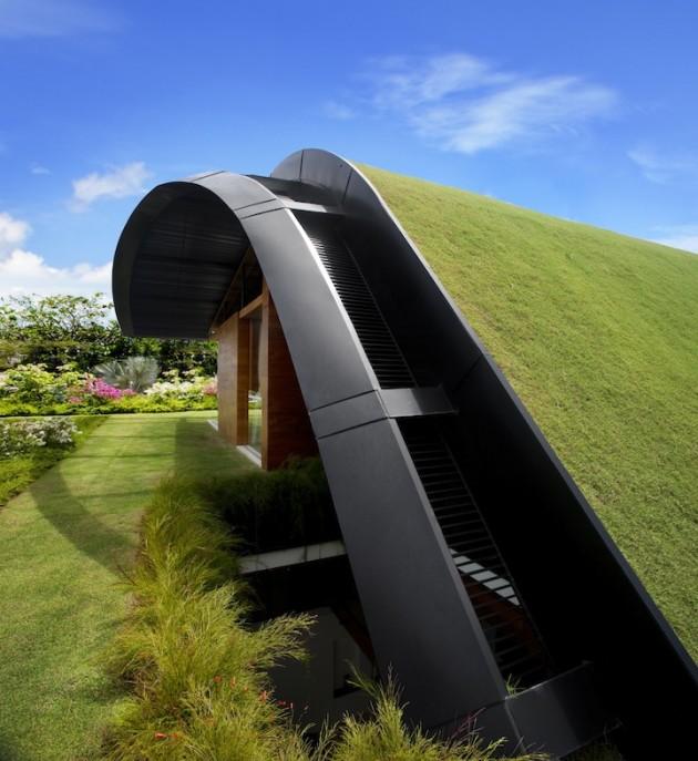 Meera Sky Garden House - An Amazing Eco-Friendly Home