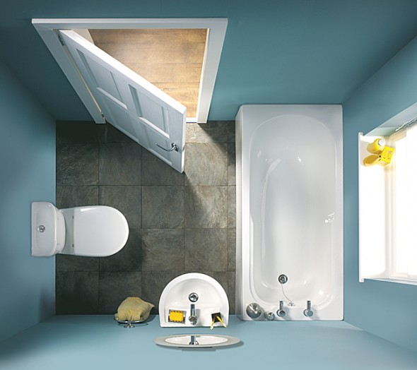 four most practical bathroom designs
