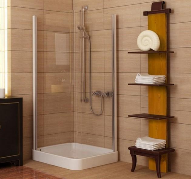 A Spacious Place - Big Ideas for Tiny Bathrooms