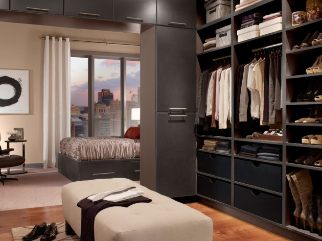 15 Clean And Tidy Modern Wardrobe Designs To Store Your