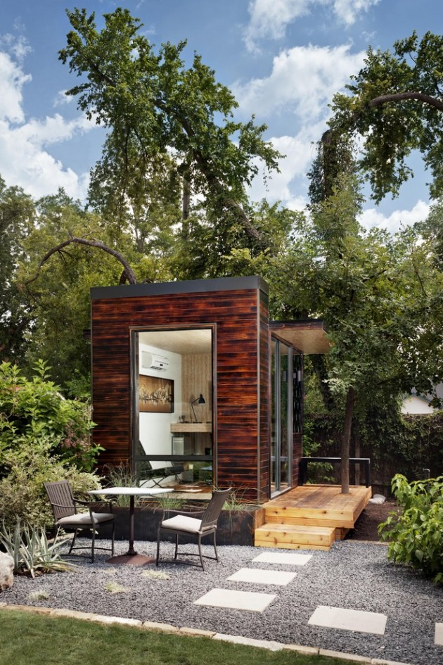 15 Compact Modern Studio Shed Designs For Your Backyard