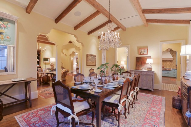 15 Exquisite Mediterranean Dining Room Designs