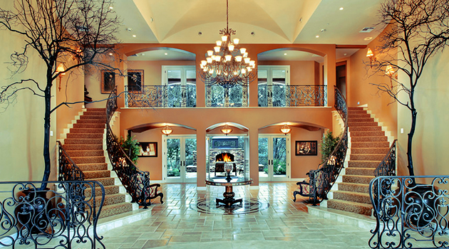 15 extremely luxury entry hall designs with stairs for House hall interior design