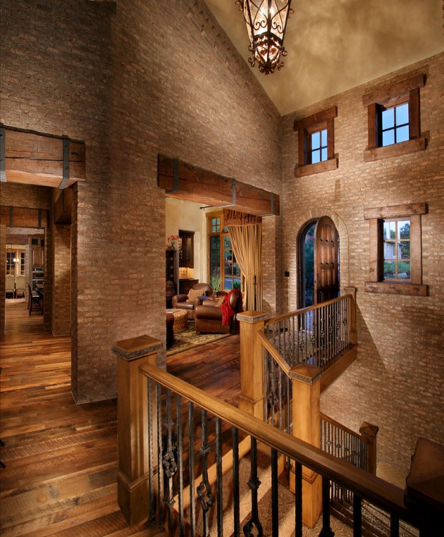 Home Interior Entrance Design Ideas: 15 Extremely Luxury Entry Hall Designs With Stairs
