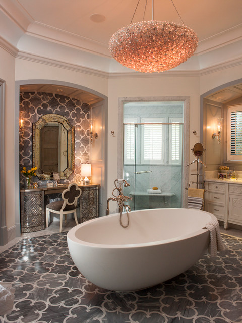 15 luxury mediterranean bathroom designs for Pictures for bathrooms designs