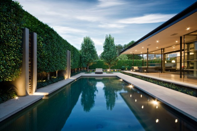 15 Masterful Modern Swimming Pool And Residence Designs