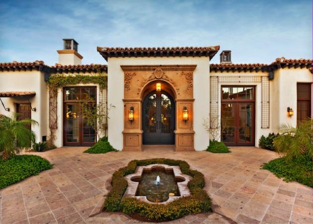 15 Phenomenal Mediterranean Exterior Designs Of Luxury Estates on Stucco Exterior Home Designs