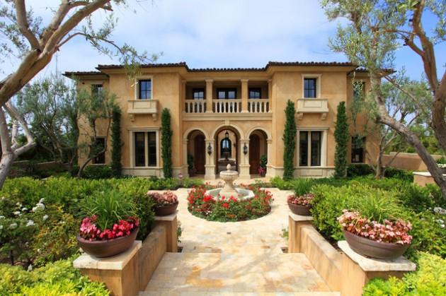 15 Phenomenal Mediterranean Exterior Designs of Luxury Estates 12 630x419 - Download Mediterranean Tiny House Design PNG