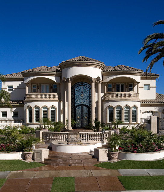 15 phenomenal mediterranean exterior designs of luxury estates for Luxury house exterior designs