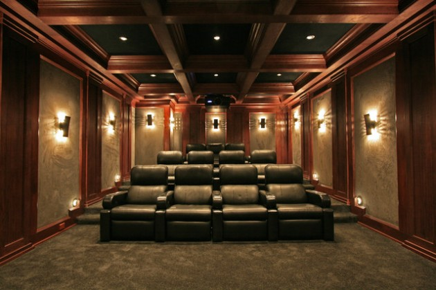 15 Professionally-Made Home Theater Designs