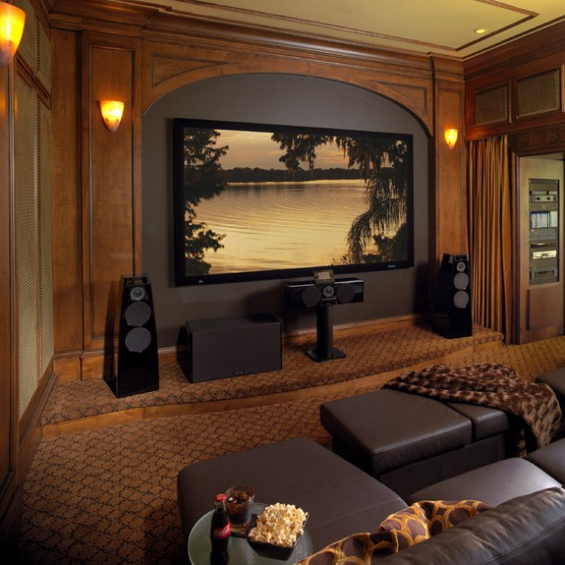 Home Theater Design And Ideas: 15 Professionally-Made Home Theater Designs