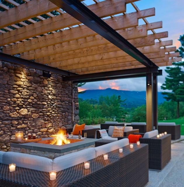Home Design Ideas Contemporary: 15 Refreshing Outdoor Patio Designs For Your Backyard