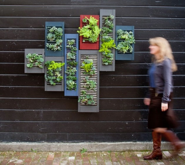 20 Excellent DIY Examples How To Make Lovely Vertical Garden