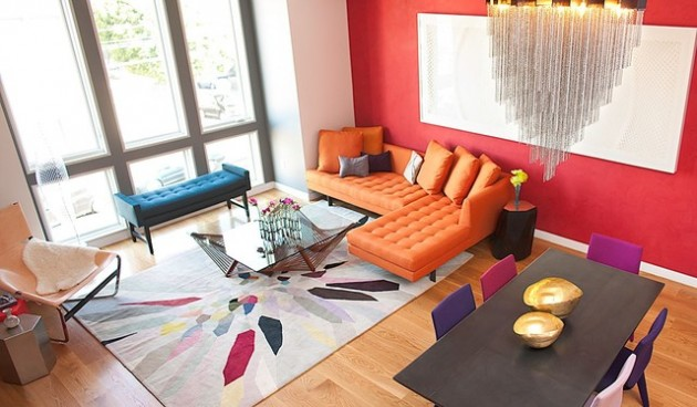 17 Cheerful & Adorable Living Room Design Ideas