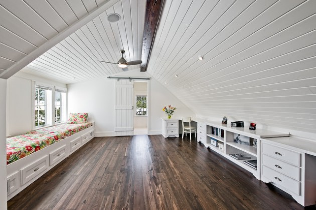 16 Magnificent Attic Office Design Ideas