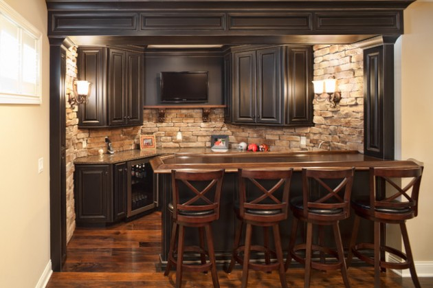 21 Superb Basements Transformed into Outstanding Bar
