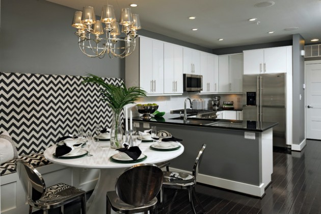 20 Scenic Contemporary Kitchen Designs For Your Home