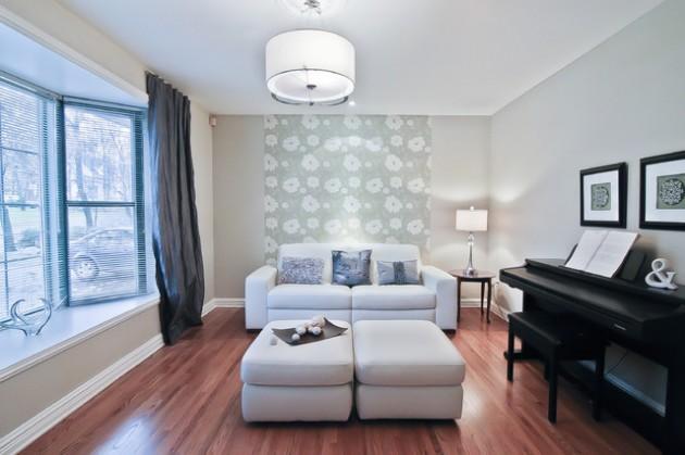 17 Cheerful & Adorable Living Room Design Ideas