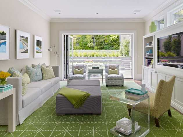 Clever Tips How to Make Your Living Room to Look Bright & Spacious