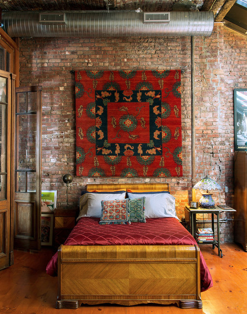16 Cool Industrial Bedrooms for All Those Who Thinks Outside the Box
