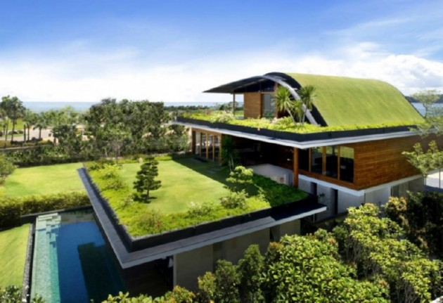 The Design of Sustainable Roofs can be both Beautiful and Practical