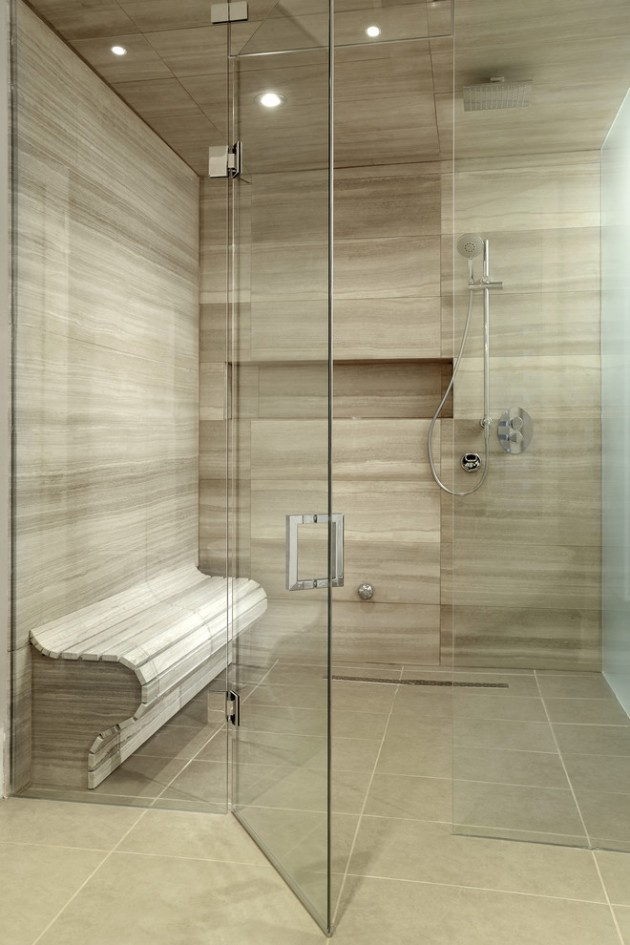 15 exquisite modern shower designs for your modern bathroom for Contemporary bathroom tile designs
